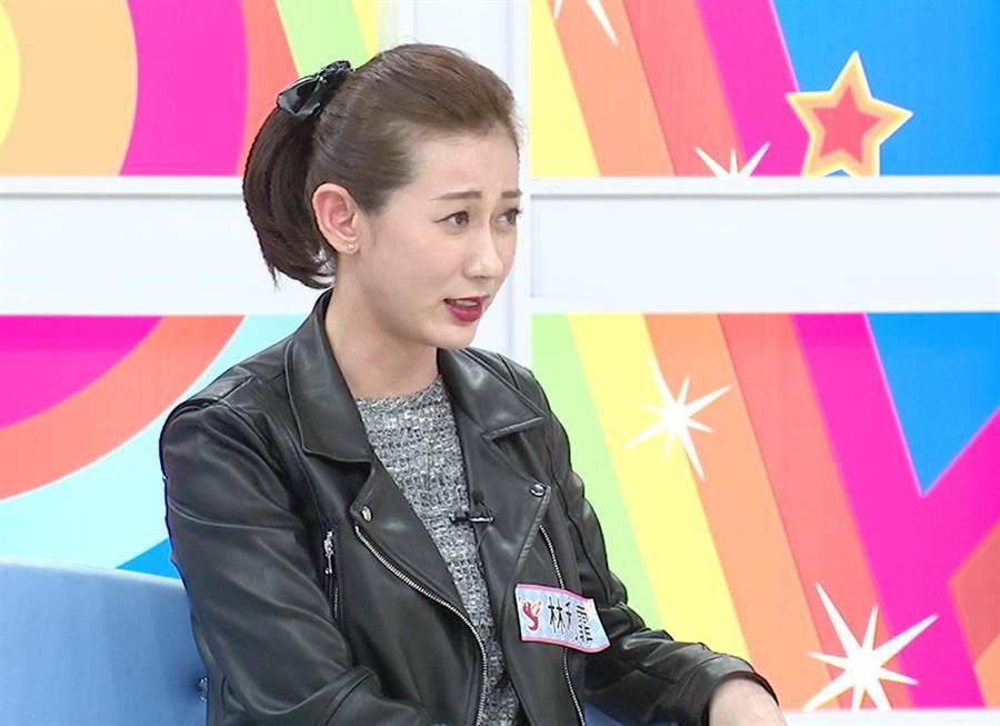林利霏表示自己常因「經前症候群」不耐煩。(東森提供)