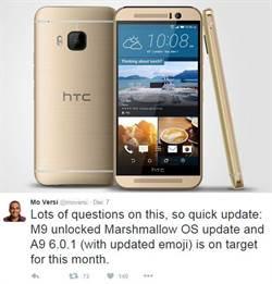 HTC One M8/M9直升安卓6.0棉花糖