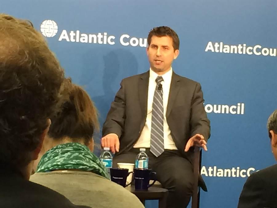 美國的台海議題專家易思安表示,與亞太各國相比,台灣的偵防共諜工作非常出色。(劉屏攝)