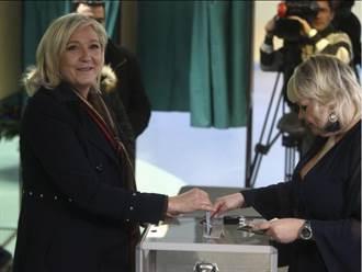 法地區選舉第二輪投票 極右派潰敗