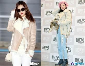 提升冬天時尚度!孔孝真、高俊熙都在穿的韓系單品「羊羔毛翻領外套」