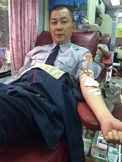 新北警民 熱情捐血