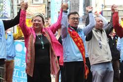 竹市藍、綠營立委參選人後援會接連成立搶票