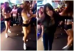 推撞辣妹舞者 嗆「三塊肉擋路」女終道歉:我是婊子