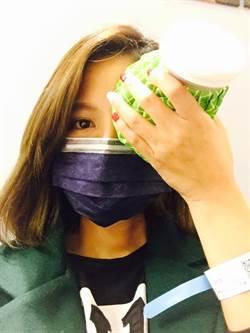 吳怡霈傳「送急診」就醫  眼睛只能睜半開