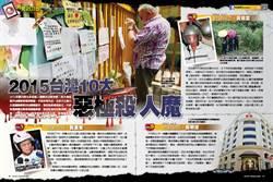《時報周刊》2015台灣10大惡極殺人魔