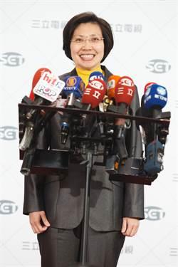 副手辯論 徐欣瑩一身黃先到場