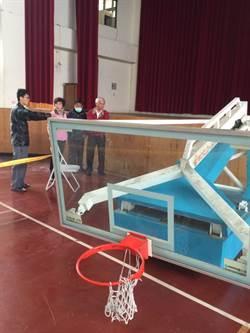竹山社寮國中 籃球架塌落壓死學生