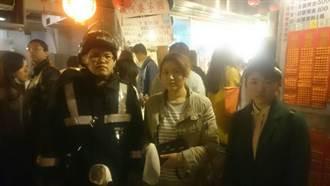 遊九份走失終相聚 日籍母女擁泣:台灣警察是英雄