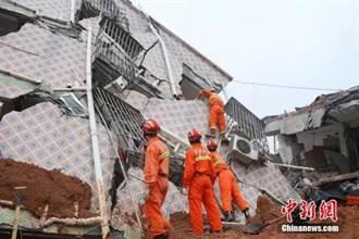 深圳滑坡 警拘12責任人