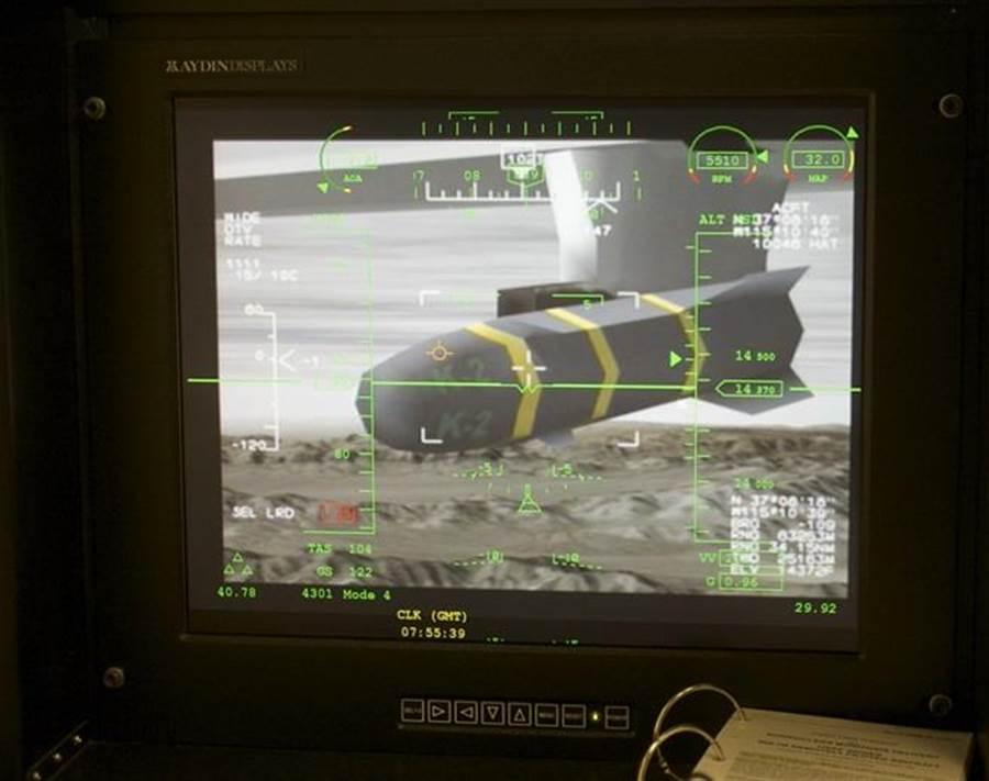 圖為捕食者無人機上加裝地獄火導彈的資料照。(圖/美聯社)