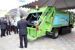 南市業者開發電動垃圾車 邁出低碳環保第一步
