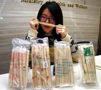 驚! 食藥署抽查市售免洗筷 逾17噸有毒