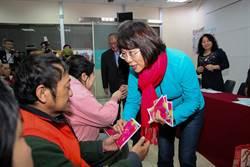 參訪蘭馨婦幼中心 王如玄:婦女是選舉關鍵力量