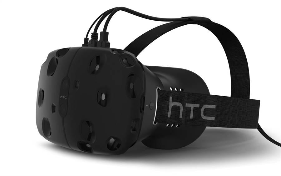 HTC與Valve合作研發的HTC Vive VR頭戴式裝置預計將在2016年四月份上市,或將引爆VR商機。(圖/HTC提供)