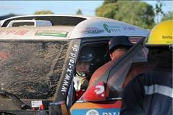 中國車手郭美玲達卡賽車撞傷10觀眾