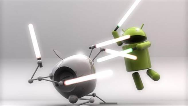 Android以及iOS兩大行動平台之爭,似乎可由2015年兩者的表現略窺2016的局勢。(圖/翻攝www.knowyourmobile.com)