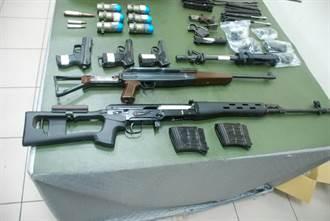 飛象過河 臺中警方破獲宜蘭槍械案