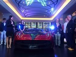 7千萬超跑Pagani領牌 車主身分曝光