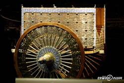 春秋時期「勞斯萊斯」 秦始皇帝陵博物院展出