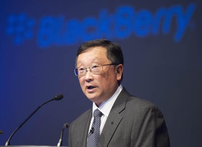 黑莓CEO 程守宗。(圖/美聯社)