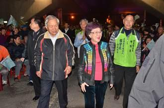呂秀蓮:國民黨已成病虎 以最後一拳把它打倒