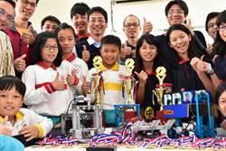 小農村學生造機器人 勇奪全國冠軍