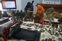 毒蟲闖空門偷藝品 上百物件贓物待領