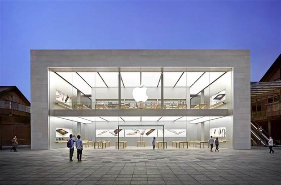 台灣首家Apple Store即將現身了嗎?圖為成都太古里 Apple Store。(圖/翻攝蘋果官網)