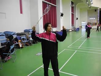 全國羽球排名賽 竹東女將鍾玉鳳獲佳績