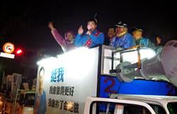 台中八選區 江啟臣、謝志忠掃街拼人氣