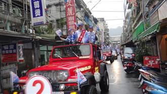 選舉倒數  張慶忠車隊掃街拜票