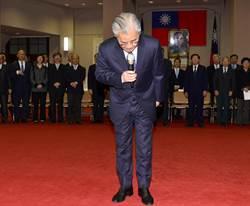 毛內閣總辭 張善政暫代院長