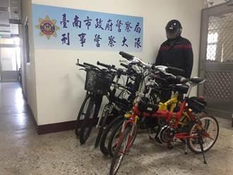 機車行放六部高價單車 警破竊車案件