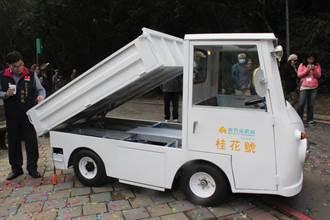 竹市全手工打造地表最萌電動垃圾車