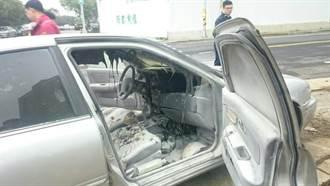 車上燒炭遭查 男載炭盆跑給警察追