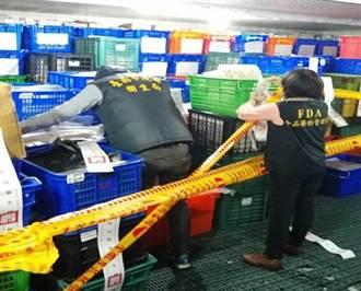 冰淇淋也過期 精彩集團倉庫再爆2740公斤過期品