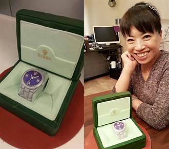 蔡媽生日Jolin送自製名錶 粉絲驚呆