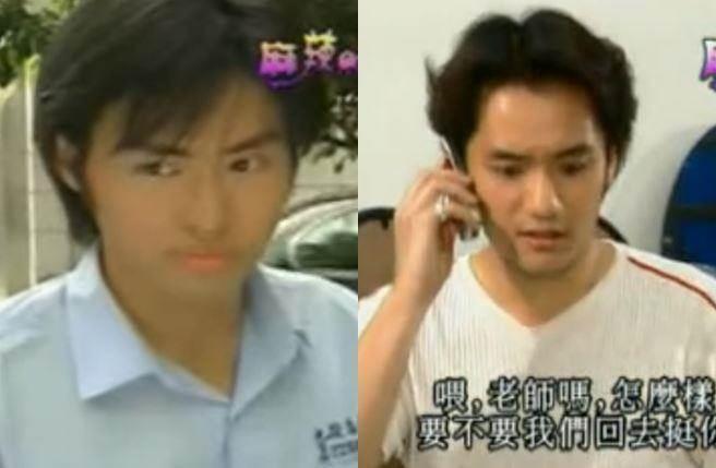「龐德」林祖恩(左)以及「YAHOO」張青智可惜並未繼續留在演藝圈發展。(圖/翻攝自土豆網)