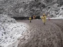 雪中開跑! 鎮西堡變極地超馬
