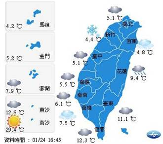 新竹平地真的下雪了!氣象局認證:難得一見