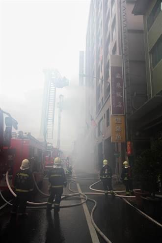 宜蘭大樓消防演練 全程擬真上陣