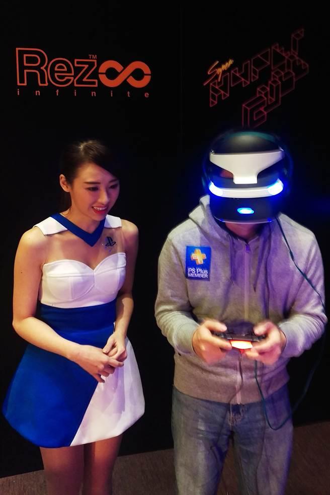 SCET將首次開發玩家體驗PS VR遊戲。(陳大任攝)