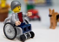 呼應殘障人士要求 樂高首度推出輪椅公仔