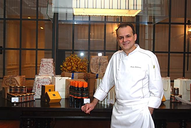 尼可拉.波帝納利(Nicola Portinari)料理手路很靈活,並會融入異國元素演繹菜餚。(圖/姚舜攝)
