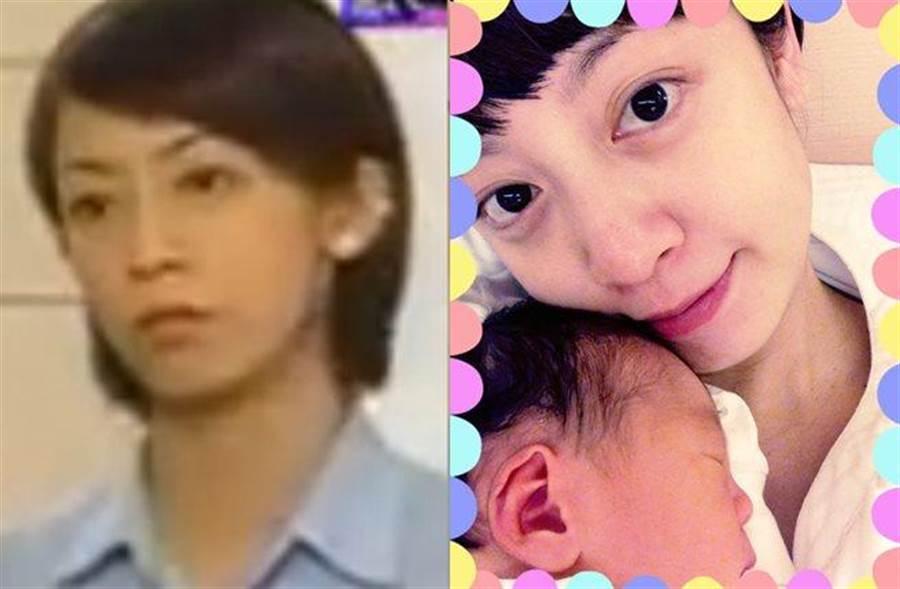 范筱梵現在很少出現在螢光幕前,專心在家照顧小兒子。(圖/翻攝自土豆網、范筱梵臉書)