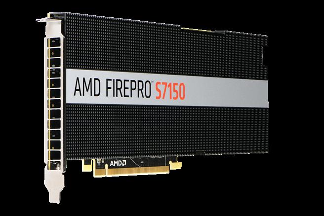 AMD FirePro S7150為新興使用者體驗提供創新的解決方案。(AMD提供)