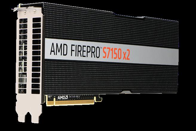 AMD FirePro  S7150 x2打造高效能虛擬化工作站以滿足各種IT需求,最高可支援32位使用者上線使用。(AMD提供)