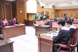 球員演法庭劇 統一獅春訓前到南檢體驗法治教育