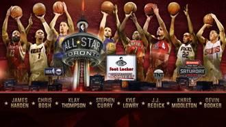 NBA三分、灌籃與技術挑戰賽參賽名單公布